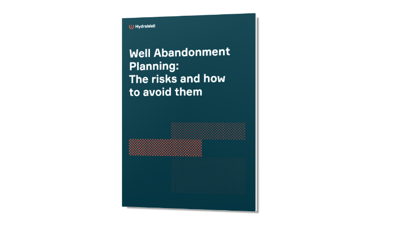 White Paper_Well abandonment planning_The risks and how to avoid them