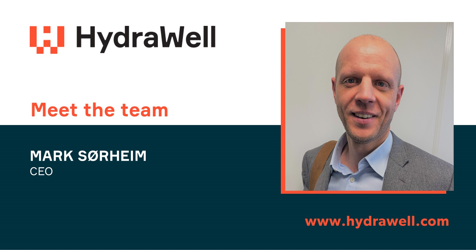 Meet the team - Mark Sørheim